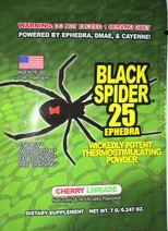 Пробник жиросжигателя Black Spider от Cloma Pharma