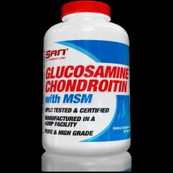 Хондропротектор Glucosamine Chondroitin with MSM фирмы SAN