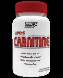 Л-карнитин в капсулах Lipo-6 Carnitine от Nutrex